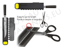 Magnetic Blade Guard pouch - easy to cut to length