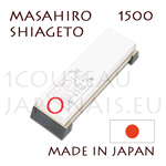 Sharpening whetstone MASAHIRO MAGNUM SHIAGETO with fine grit 1500 - to be used in a wet state