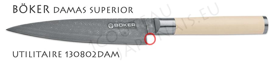 couteau boker damas superieur couteau de cuisine utilitaire. Black Bedroom Furniture Sets. Home Design Ideas