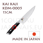 KAI japanese knives - KDM-0005 SHUN KAJI series - CHEF's knife - Damascus steel blade