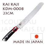 KAI japanese knives - KDM-0008 SHUN KAJI series - BREAD knife - Damascus steel blade