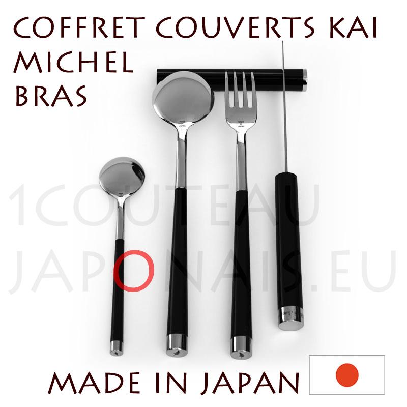 michel bras restaurant at laguiole set of 4 table covers kai. Black Bedroom Furniture Sets. Home Design Ideas