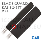 Set 2 Magnetic Blades Guard Sheaths KAI BG-SET