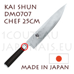 KAI japanese Chef knife - DM0707 SHUN series - chef´s knife  Damascus steel blade
