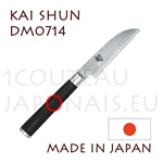KAI japanese knives - SHUN series - vegetable knife - Damascus steel blade