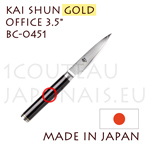 KAI japanese knives - SHUN GOLD series - BC-0451 Paring knife - Damascus steel blade