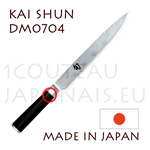 KAI japanese knive - SHUN series - damascus steel blade slicing knife