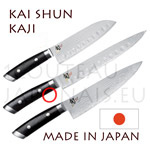 KAI japanese knives - SHUN KAJI series - chefs knives - Damascus steel blade
