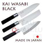 KAI japanese knives - WASABI BLACK series - chefs knives