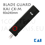 Magnetic Blade Guard Sheath KAI CK-M for maximum 60x240mm blades
