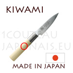KIWAMI - PEELER japanese knife Damas 33 layers - Poplarwood handle