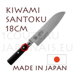 KIWAMI - SANTOKU japanese knife Damas 33 layers - Pakkawood handle