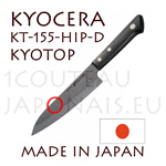 KYOCERA ceramic knife - Japanese Chef knife KYOTOP KT-155-HIP-D Sandgarden Style series