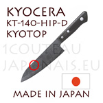 KYOCERA ceramic knife - Japanese Santoku knife KYOTOP KT-140-HIP-D Sandgarden Style series