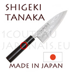 DEBA URUSHI japanese knife from Shigeki Tanaka cutler  Hand forged from carbon steel -non stainless steel-
