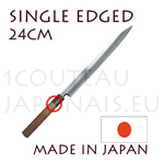 SINGLE EDGED - YANAGIBA 24cm japanese knife from Akira Sasaoka - Aokami2 High carbon steel